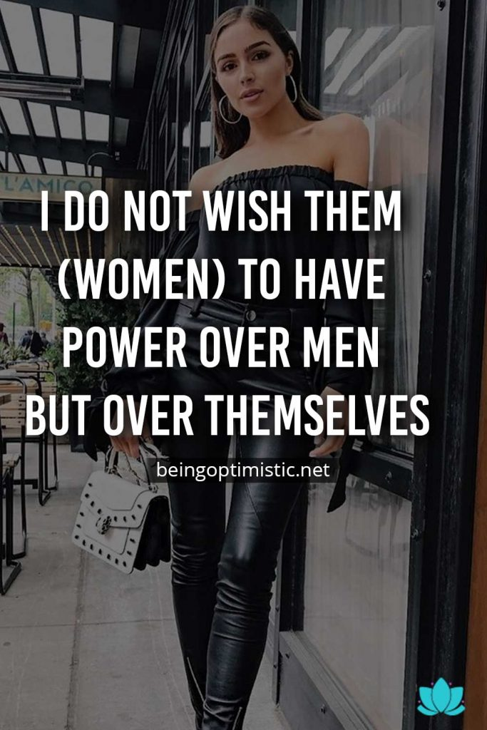 female led relationship quotes